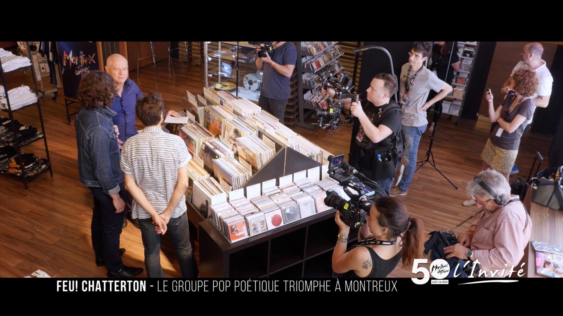 Feu! Chatterton au Montreux Jazz Festival