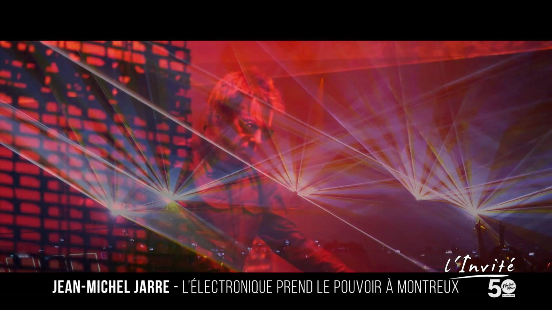 Jean-Michel JARRE au Montreux JAzz Festival