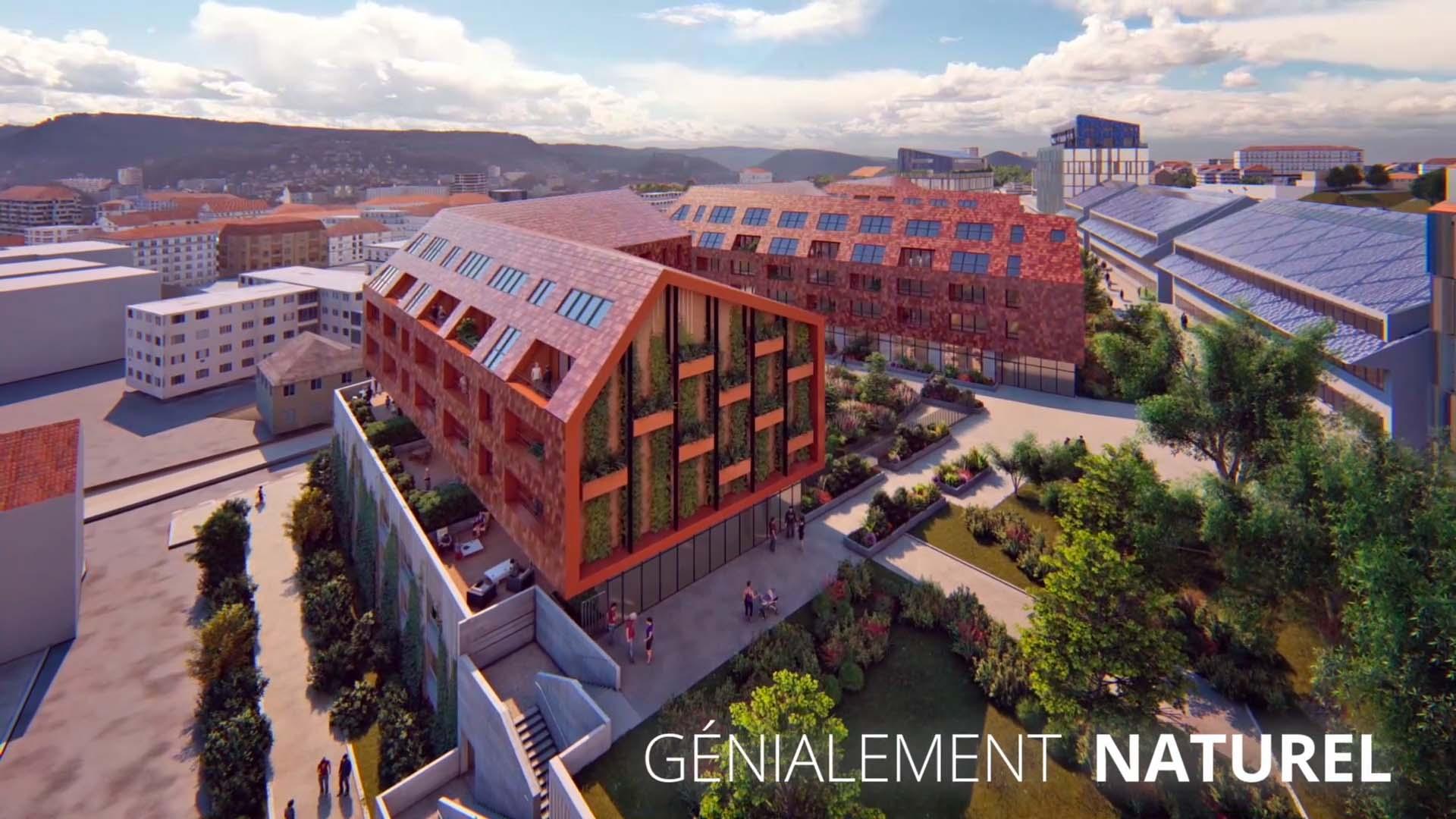 Découvrez la résidence Génius à Besançon !